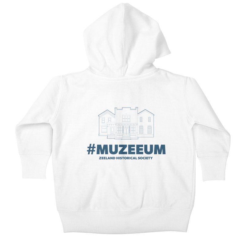 ZHS #muzeeum Kids Baby Zip-Up Hoody by Zeeland Historical Society's Online Store
