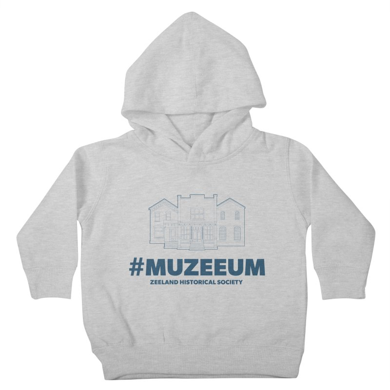 ZHS #muzeeum Kids Toddler Pullover Hoody by Zeeland Historical Society's Online Store