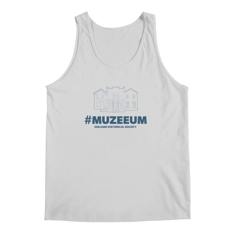 ZHS #muzeeum Men's Regular Tank by Zeeland Historical Society's Online Store