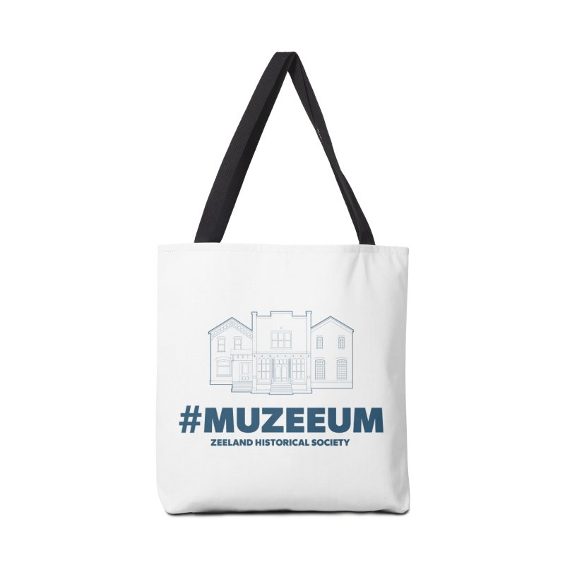 ZHS #muzeeum Accessories Tote Bag Bag by Zeeland Historical Society's Online Store