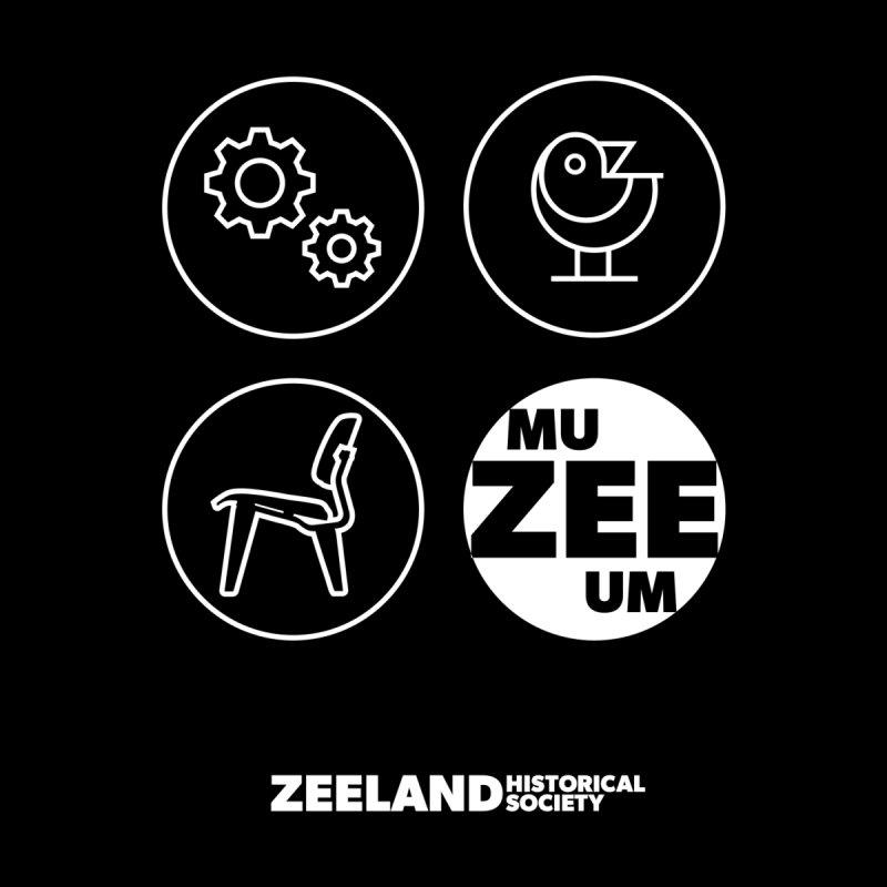 MU-ZEE-UM circles (reversed)   by Zeeland Historical Society's Online Store
