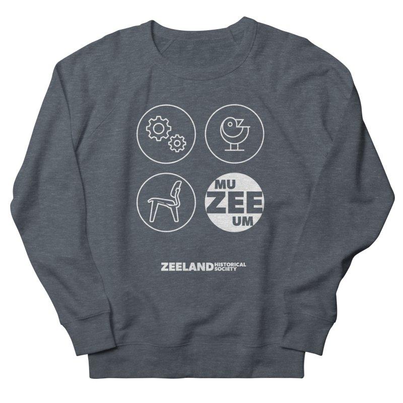 MU-ZEE-UM circles (reversed) Men's French Terry Sweatshirt by Zeeland Historical Society's Online Store