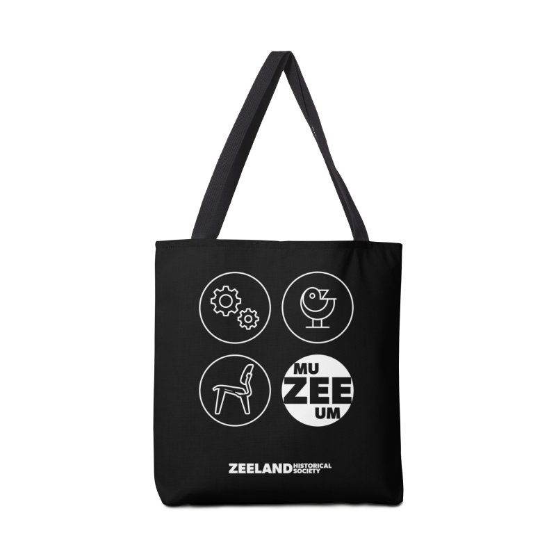 MU-ZEE-UM circles (reversed) Accessories Bag by Zeeland Historical Society's Online Store