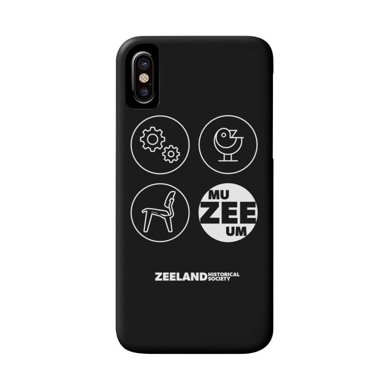 MU-ZEE-UM circles (reversed) Accessories Phone Case by Zeeland Historical Society's Online Store