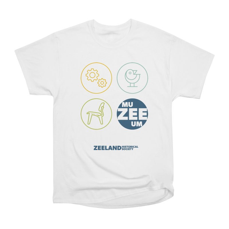 MU-ZEE-UM circles Women's Heavyweight Unisex T-Shirt by Zeeland Historical Society's Online Store