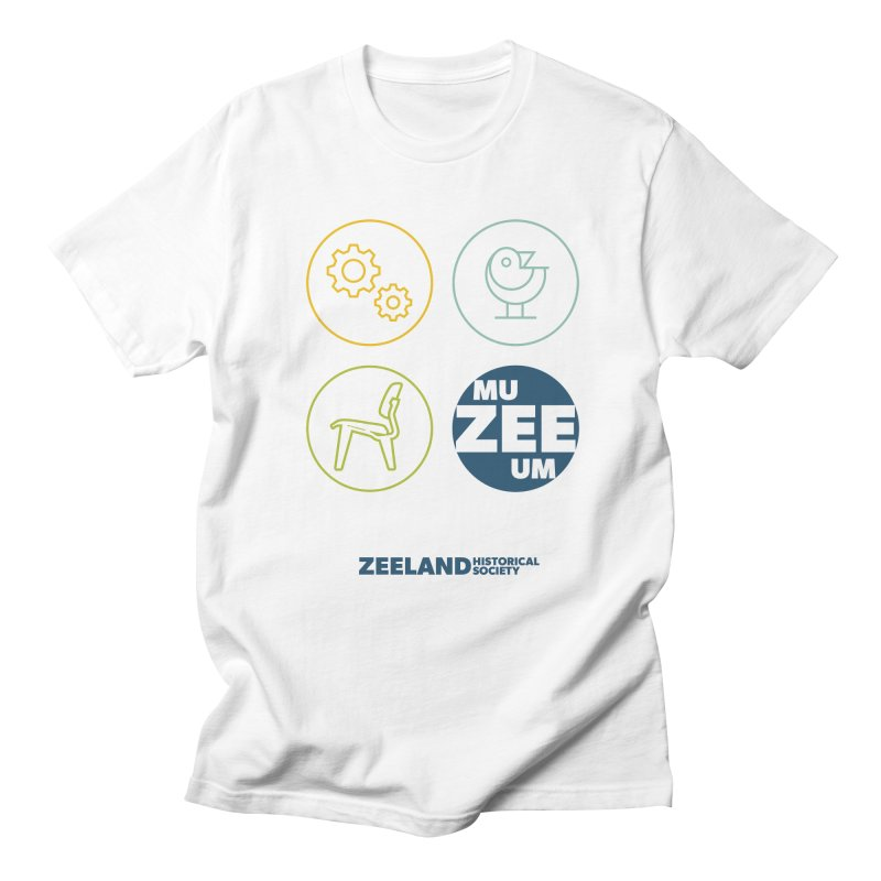 MU-ZEE-UM circles Men's Regular T-Shirt by Zeeland Historical Society's Online Store