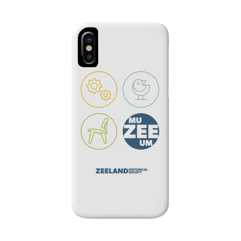 MU-ZEE-UM circles Accessories Phone Case by Zeeland Historical Society's Online Store