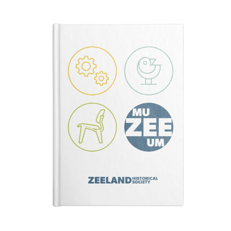 MU-ZEE-UM circles Accessories Blank Journal Notebook by Zeeland Historical Society's Online Store