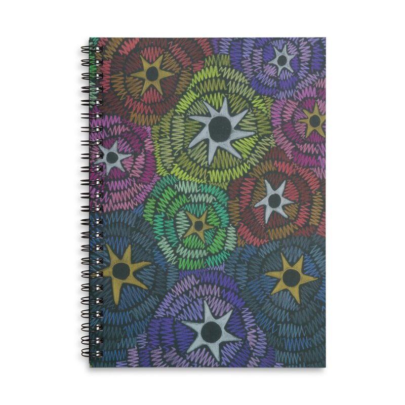 Fabric of the Stars Accessories Notebook by Zia Foley's Artist Shop