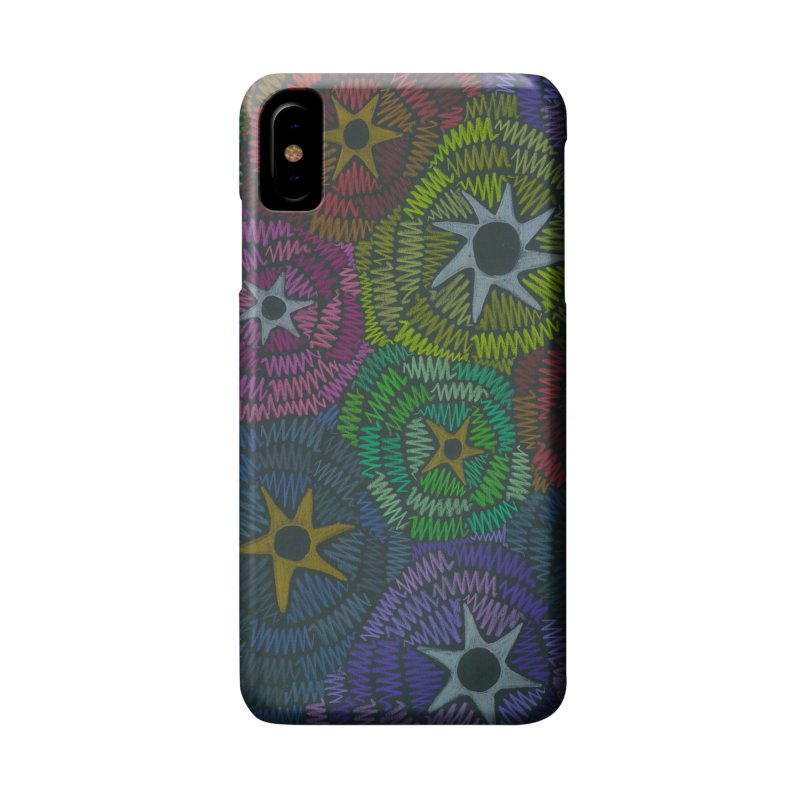 Fabric of the Stars Accessories Phone Case by Zia Foley's Artist Shop