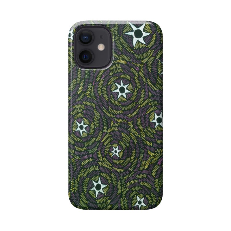 Black Hole Starry Night Accessories Phone Case by Zia Foley's Artist Shop