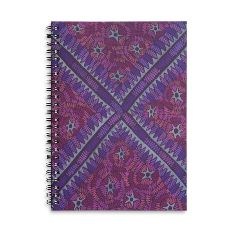 Intersection Accessories Notebook by Zia Foley's Artist Shop