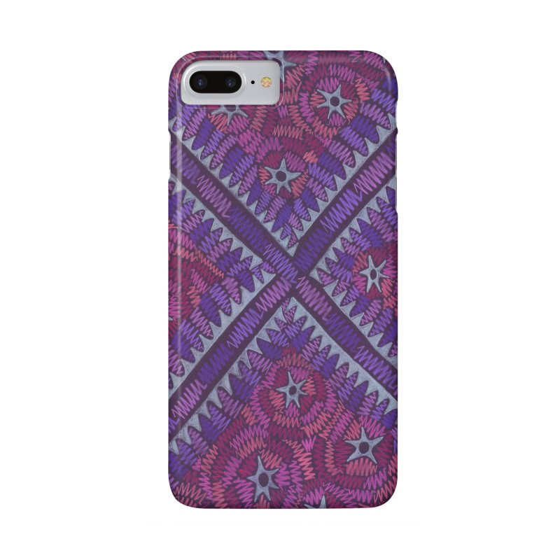 Intersection Accessories Phone Case by Zia Foley's Artist Shop
