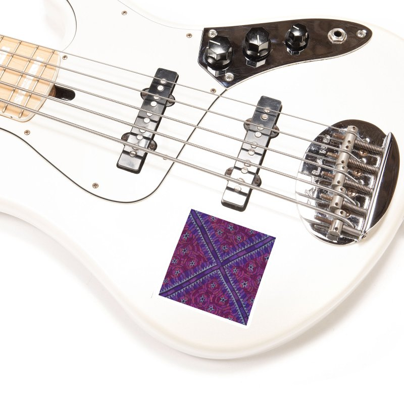 Intersection Accessories Sticker by Zia Foley's Artist Shop