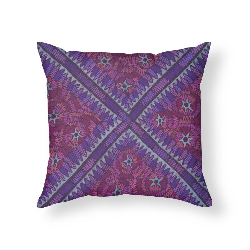 Intersection Home Throw Pillow by Zia Foley's Artist Shop