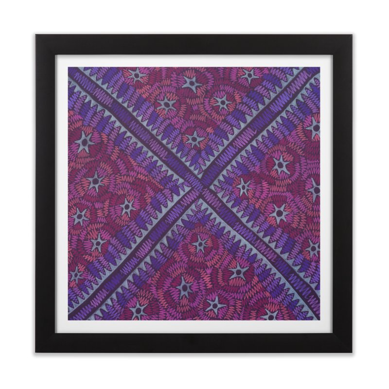 Intersection Home Framed Fine Art Print by Zia Foley's Artist Shop