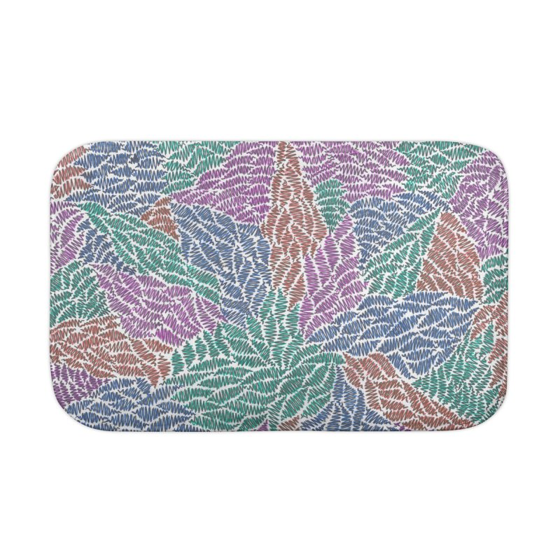 Sprout Home Bath Mat by Zia Foley's Artist Shop