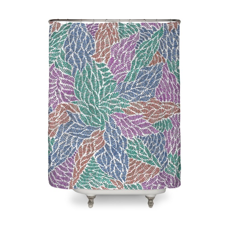 Sprout Home Shower Curtain by Zia Foley's Artist Shop