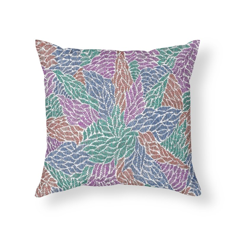 Sprout Home Throw Pillow by Zia Foley's Artist Shop