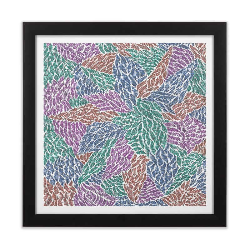 Sprout Home Framed Fine Art Print by Zia Foley's Artist Shop