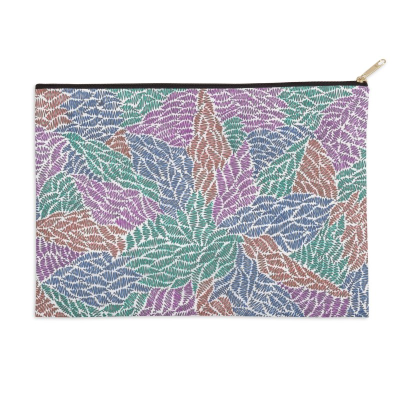 Sprout Accessories Zip Pouch by Zia Foley's Artist Shop