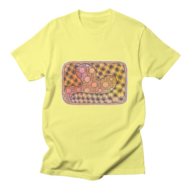 Holy Heart Men's T-Shirt by Zia Foley's Artist Shop