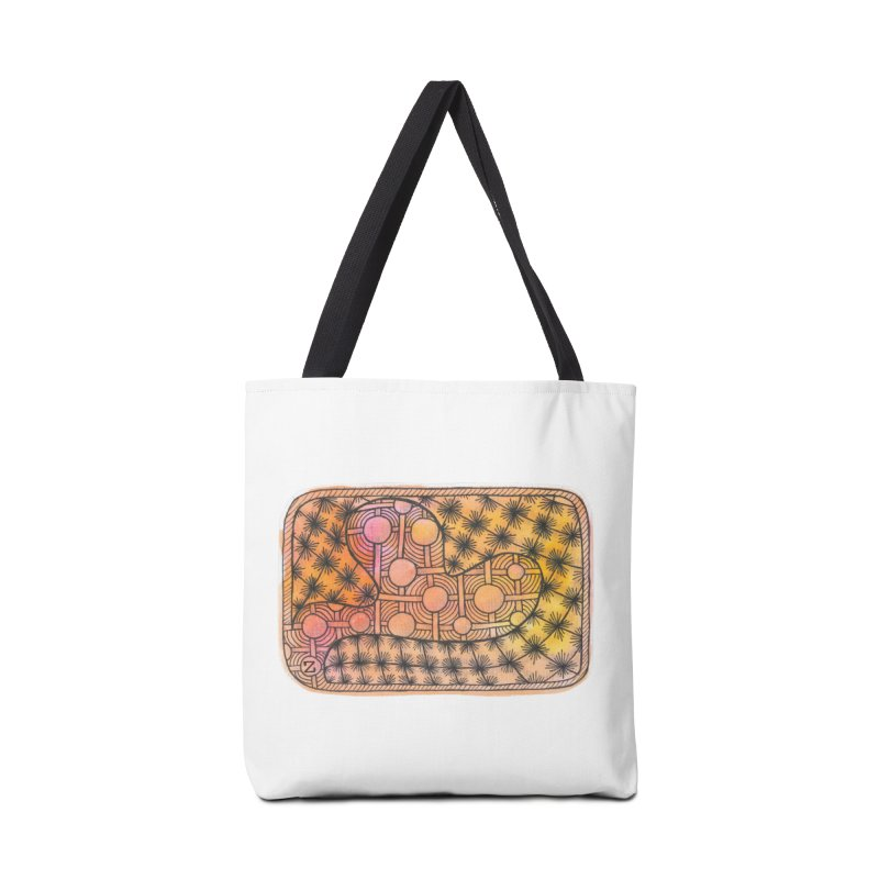 Holy Heart Accessories Bag by Zia Foley's Artist Shop