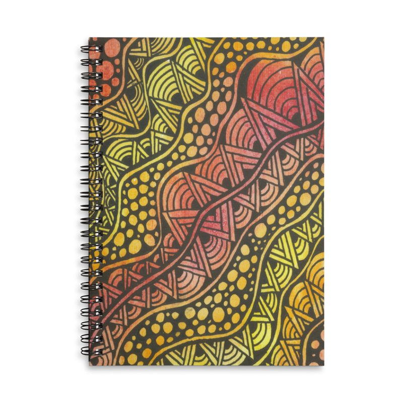 Beneath our Feet Accessories Notebook by Zia Foley's Artist Shop