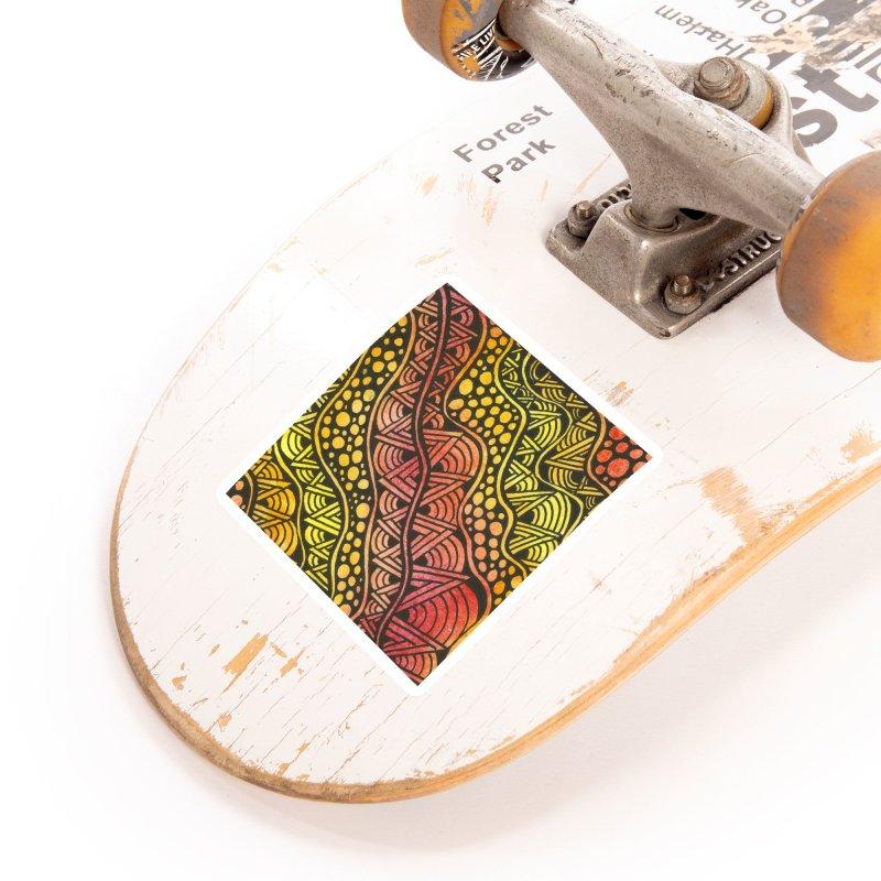 Beneath our Feet Accessories Sticker by Zia Foley's Artist Shop