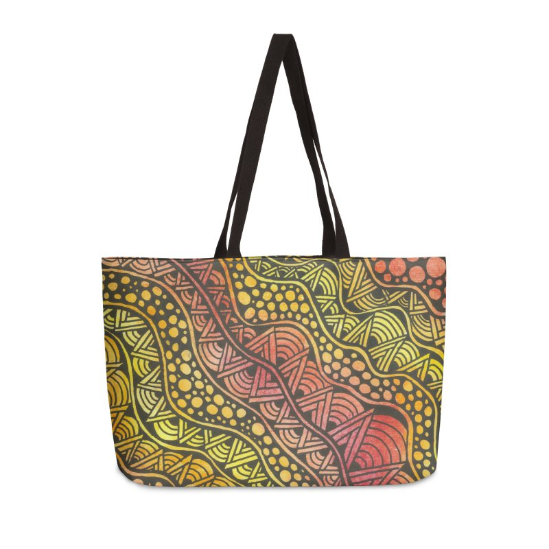 Beneath our Feet Accessories Bag by Zia Foley's Artist Shop