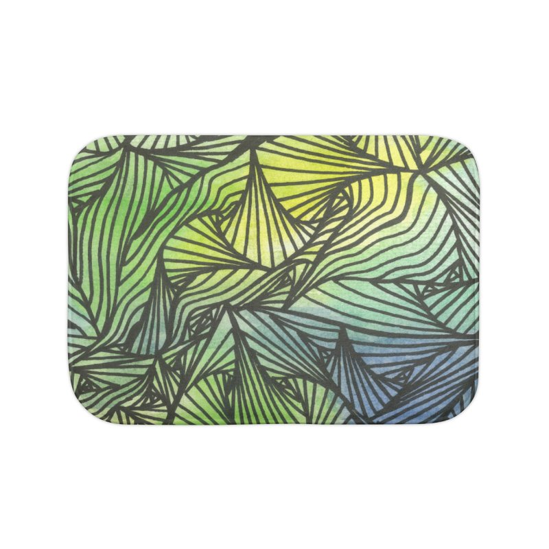 Thorny Waters Home Bath Mat by Zia Foley's Artist Shop