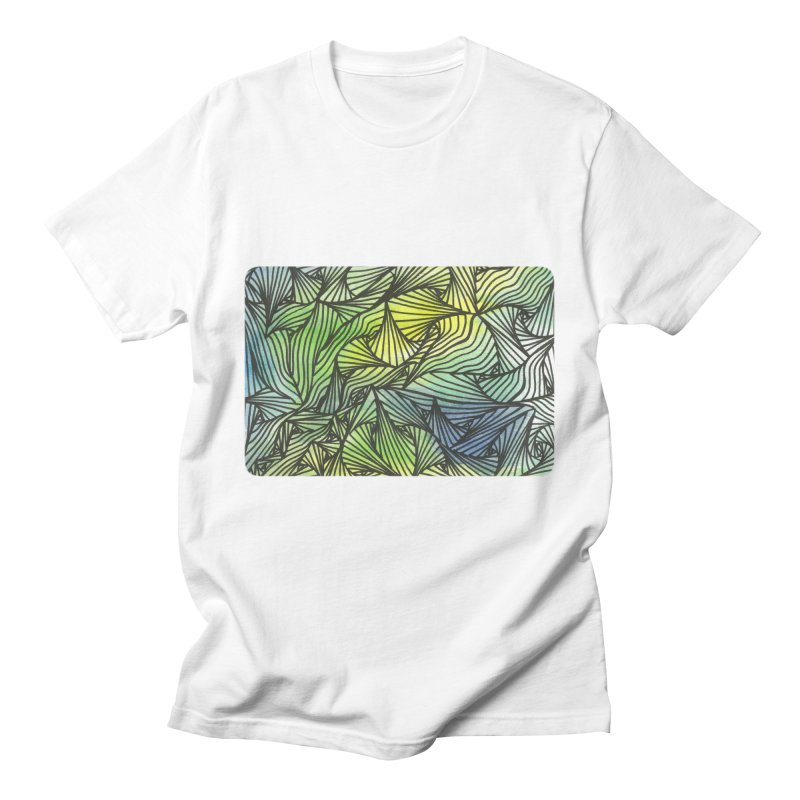 Thorny Waters Men's T-Shirt by Zia Foley's Artist Shop