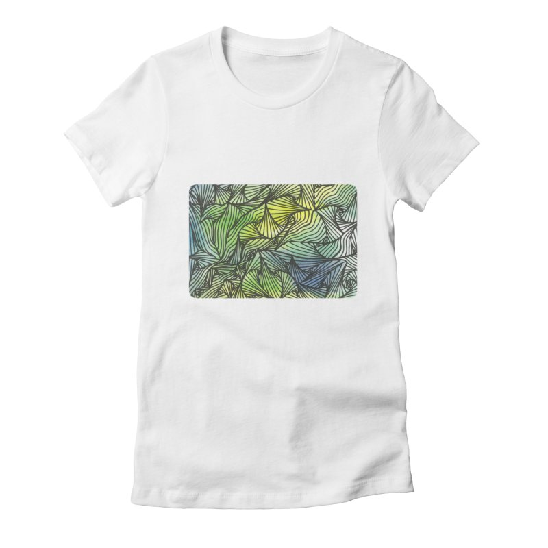 Thorny Waters Women's T-Shirt by Zia Foley's Artist Shop