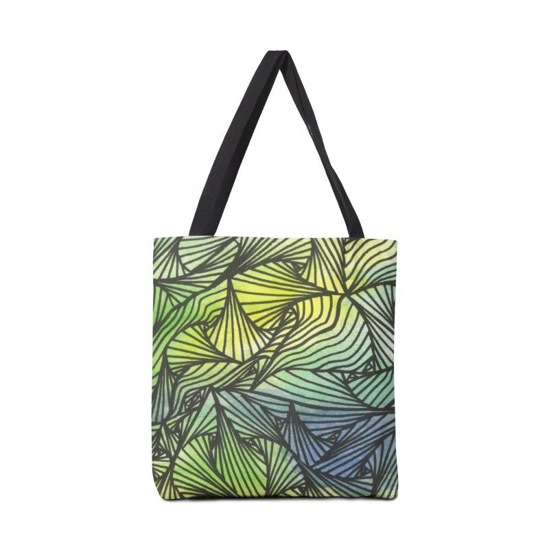 Thorny Waters Accessories Bag by Zia Foley's Artist Shop