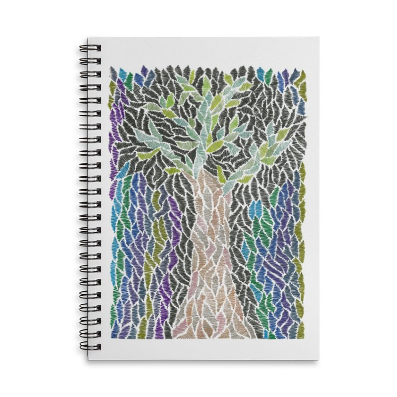 Zhe tree Accessories Notebook by Zia Foley's Artist Shop