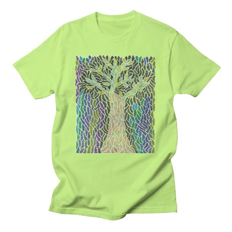 Zhe tree Men's T-Shirt by Zia Foley's Artist Shop