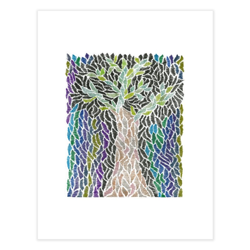 Zhe tree Home Fine Art Print by Zia Foley's Artist Shop