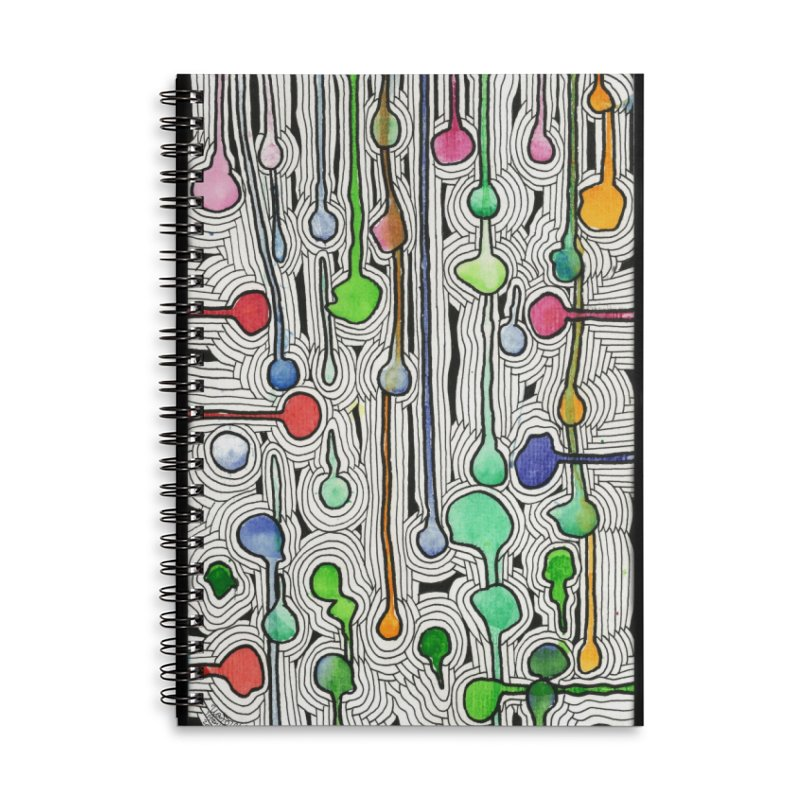 Talking Heads Accessories Notebook by Zia Foley's Artist Shop