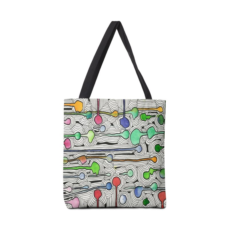 Talking Heads Accessories Bag by Zia Foley's Artist Shop