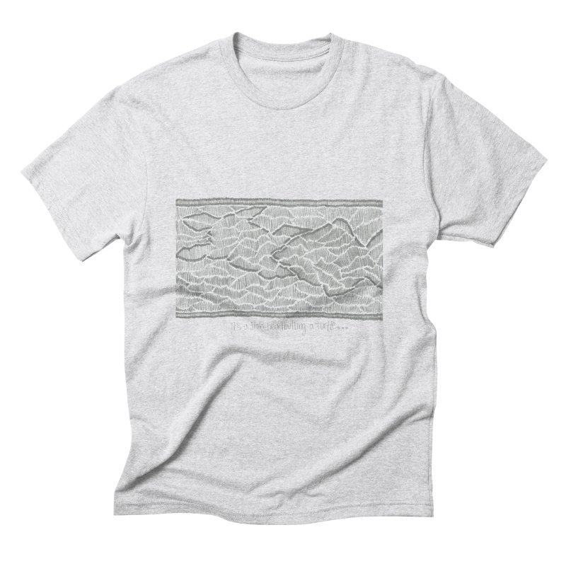 Headbutt Men's T-Shirt by Zia Foley's Artist Shop