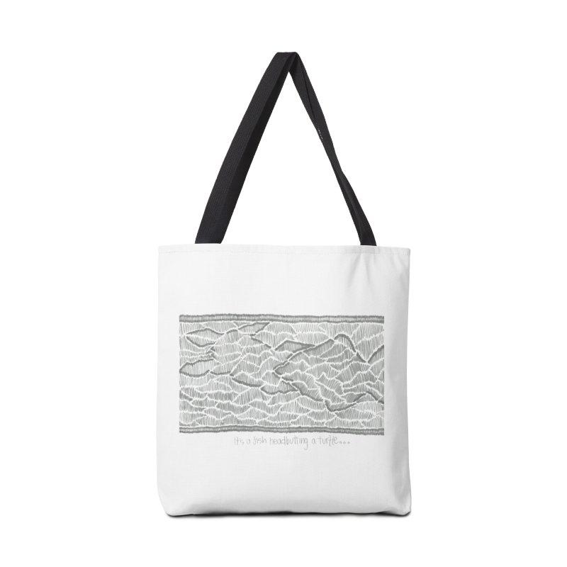 Headbutt Accessories Bag by Zia Foley's Artist Shop