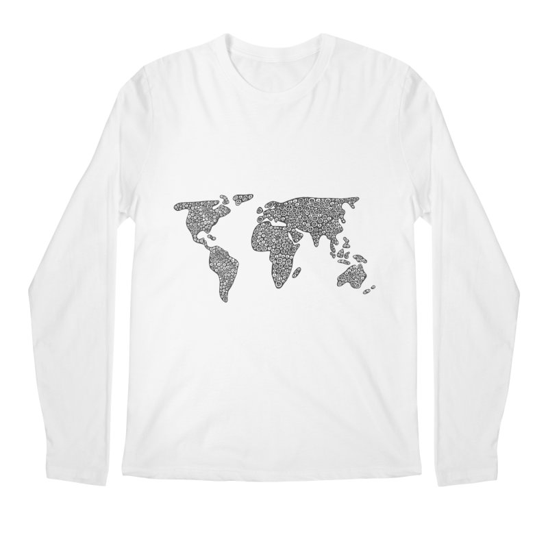 Peace to the World Men's Longsleeve T-Shirt by Zia Foley's Artist Shop