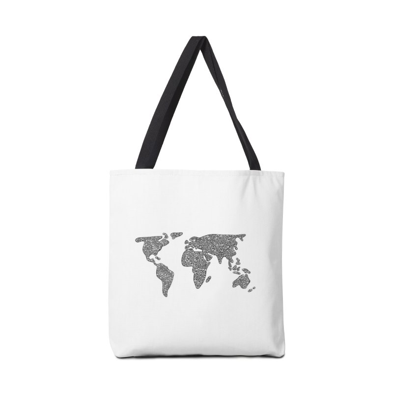 Peace to the World Accessories Bag by Zia Foley's Artist Shop