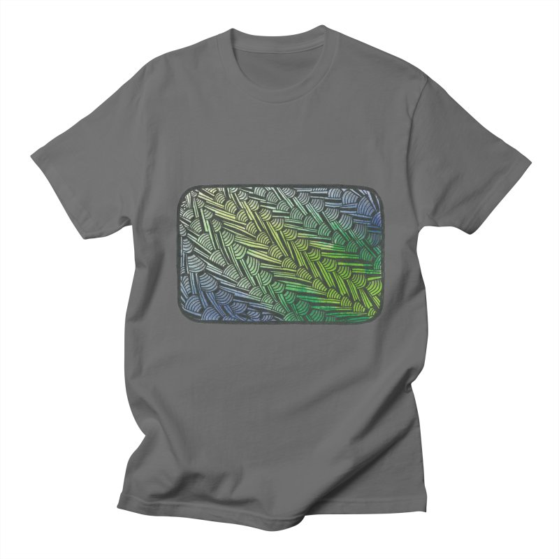 Braided Water Men's T-Shirt by Zia Foley's Artist Shop