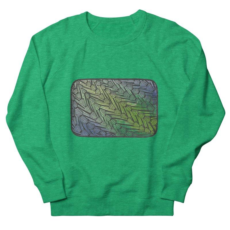 Braided Water Women's Sweatshirt by Zia Foley's Artist Shop