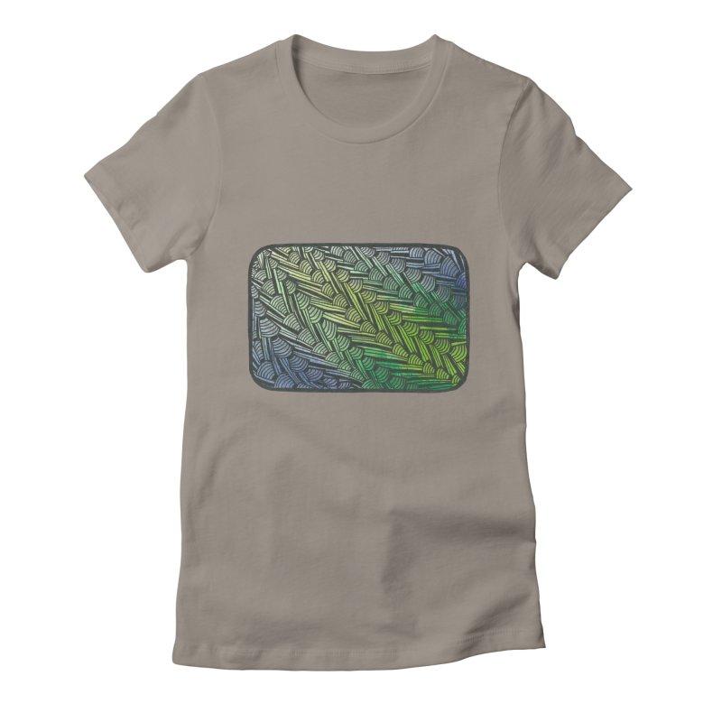 Braided Water Women's T-Shirt by Zia Foley's Artist Shop