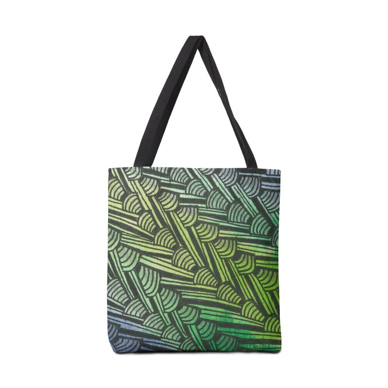 Braided Water Accessories Bag by Zia Foley's Artist Shop