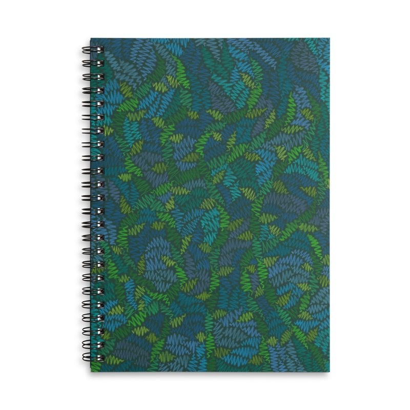 Creeping Vines Accessories Notebook by Zia Foley's Artist Shop