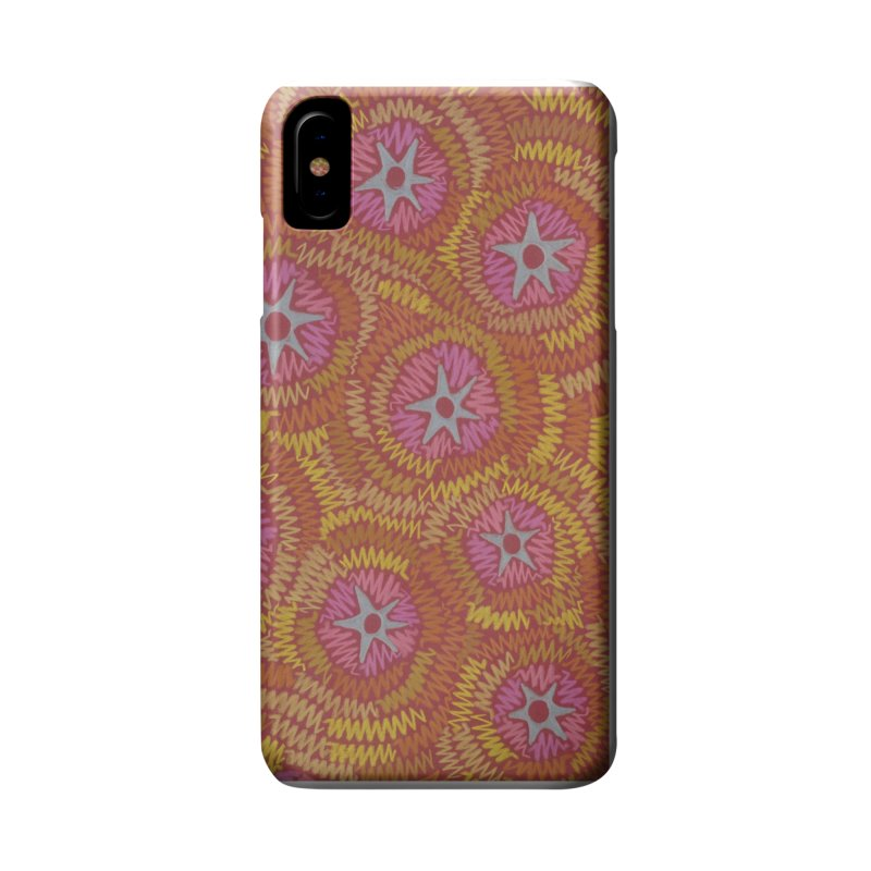 Star Fire Accessories Phone Case by Zia Foley's Artist Shop
