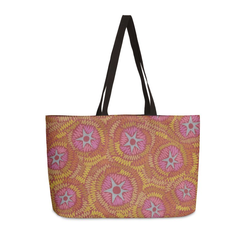 Star Fire Accessories Bag by Zia Foley's Artist Shop